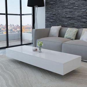 TABLE BASSE Table basse de salon scandinave Style 115 x 55 x 3