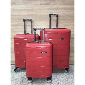 SET DE VALISES Définir 3 valises 8 roues 360° Rotating TSA Fermet