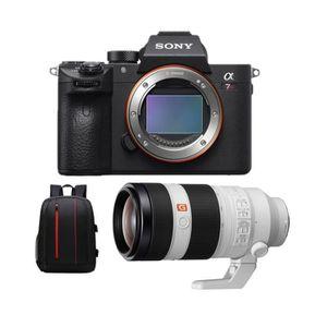 APPAREIL PHOTO RÉFLEX SONY A7R III + SEL 100-400MM F4.5-5.6 OSS + Backpa