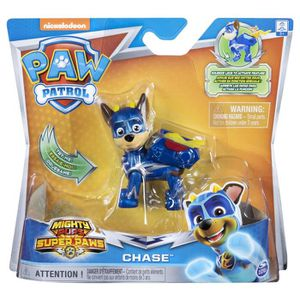 FIGURINE - PERSONNAGE PAT PATROUILLE Figurine MIGHTY PUPS - Chase