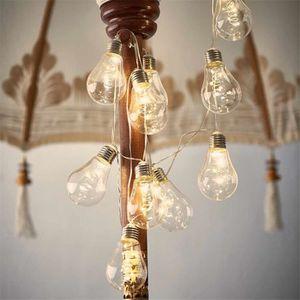 GUIRLANDE LUMINEUSE INT LED guirlande lumineuse boules 4m, 10 Ampoules, Bl