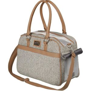 PANIER DE TRANSPORT TRIXIE Sac de transport Helen - 19x28x40 cm - Gris