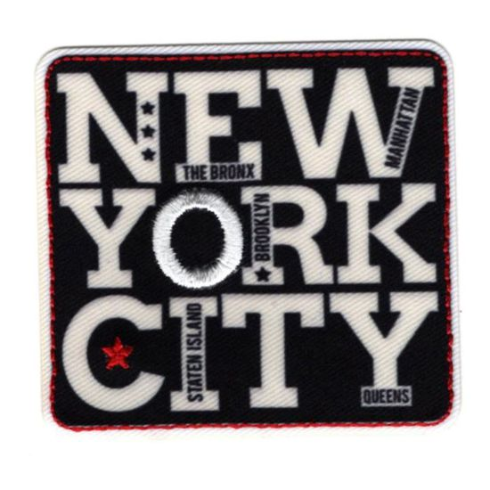 Ecusson Thermocollant New York City 2 x 4 cm