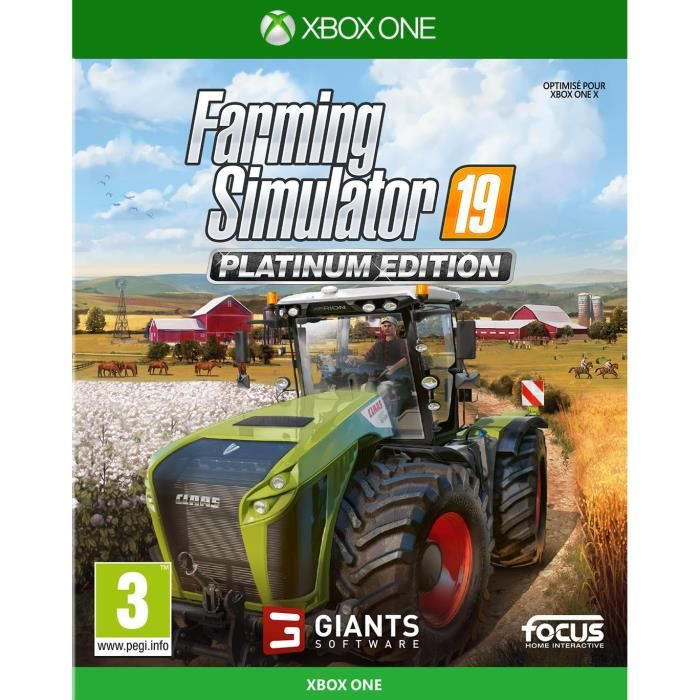 Farming Simulator 19 Édition Platinium Jeu Xbox One