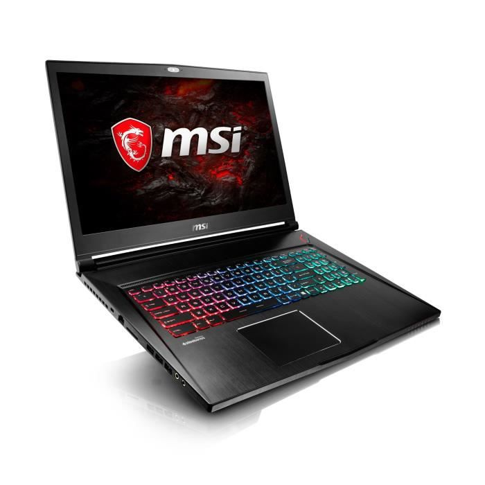 msi pc portable gamer gs73vr 7r stealth pro 253xfr 17 3. Black Bedroom Furniture Sets. Home Design Ideas