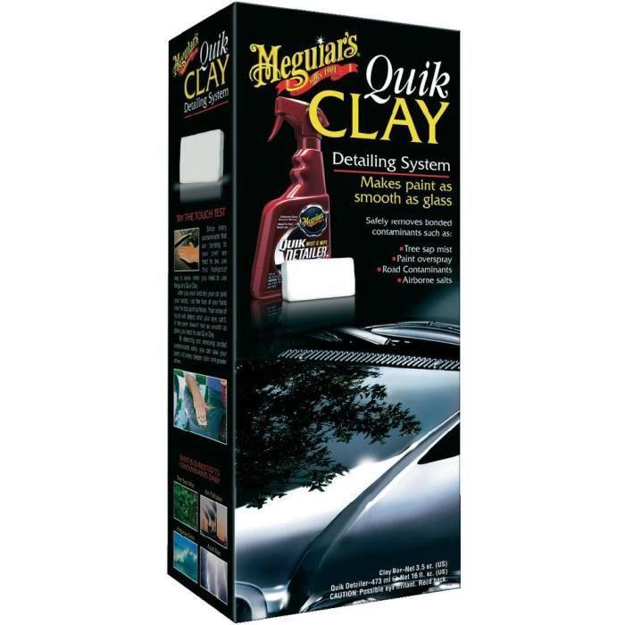 Kit de nettoyage pour carosserie Meguiars Quik …