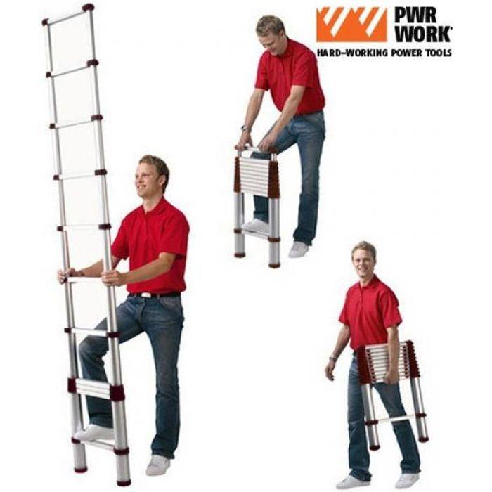 Échelle Télescopique Extensible XXL Ladder
