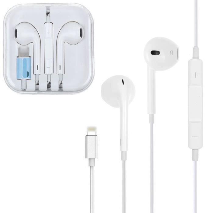 écouteurs Filaire écouteurs pour iPhone 7 - 7Plus - 8-8 Plus-X-iPhone XS Max et Autres Smartphones