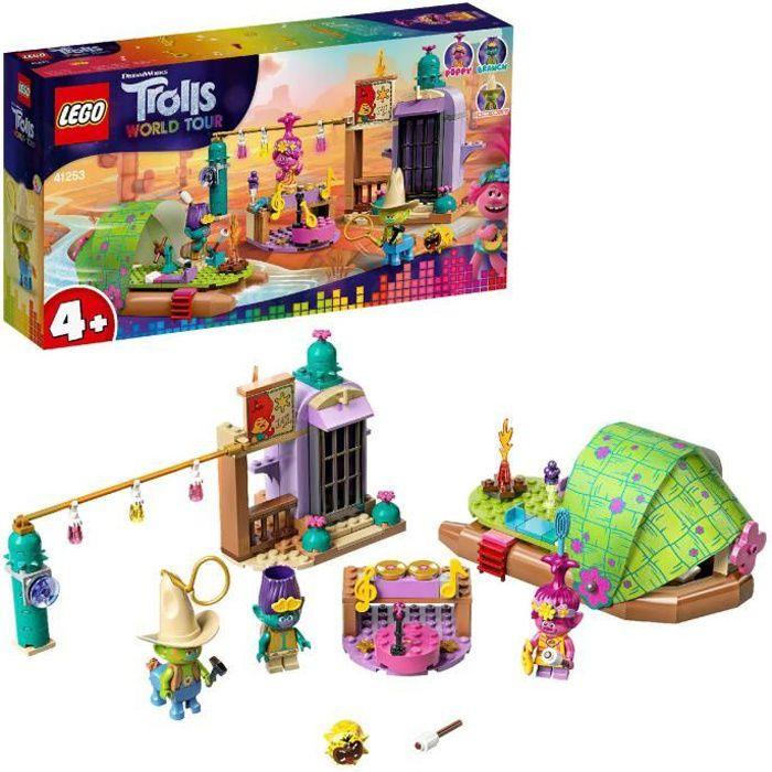 LEGO® Trolls World Tour 41253 - L'aventure en radeau de Mornebourg