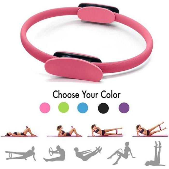Pilates Anneau d'exercice cercle de resistance Anneau d'entrainement Anneau de yoga rose - Bague de résistance Yoga Pilates Circle
