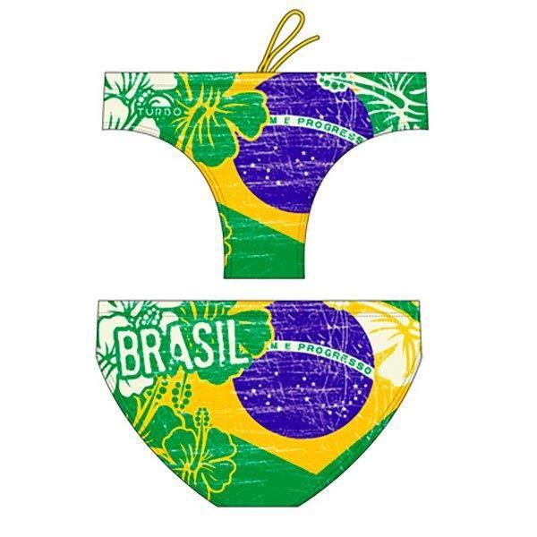 MAILLOTS DE BAIN Homme Slips bains Turbo Brasil Vintage 2013 Waterpolo