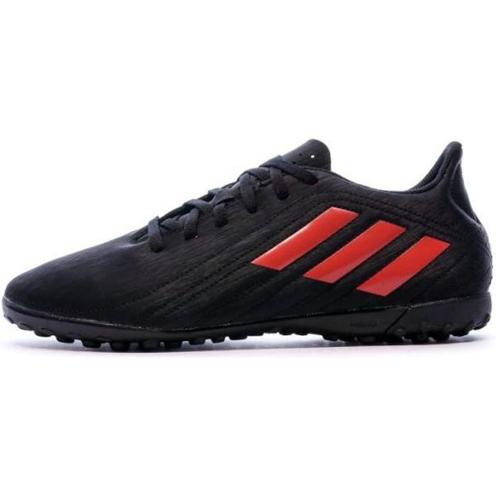 Deportivo TF Chaussures de Foot Noires Adidas