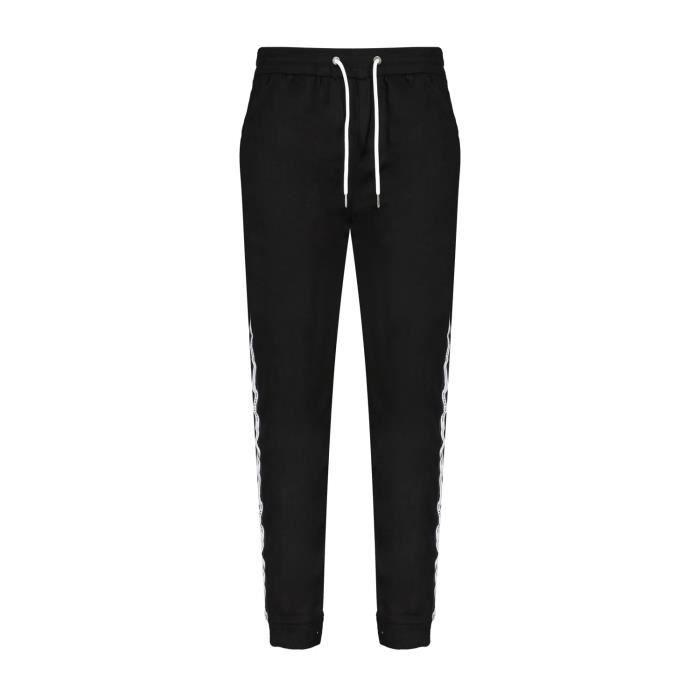 DEELUXE Pantalon de jogging à bandes HUGO Black