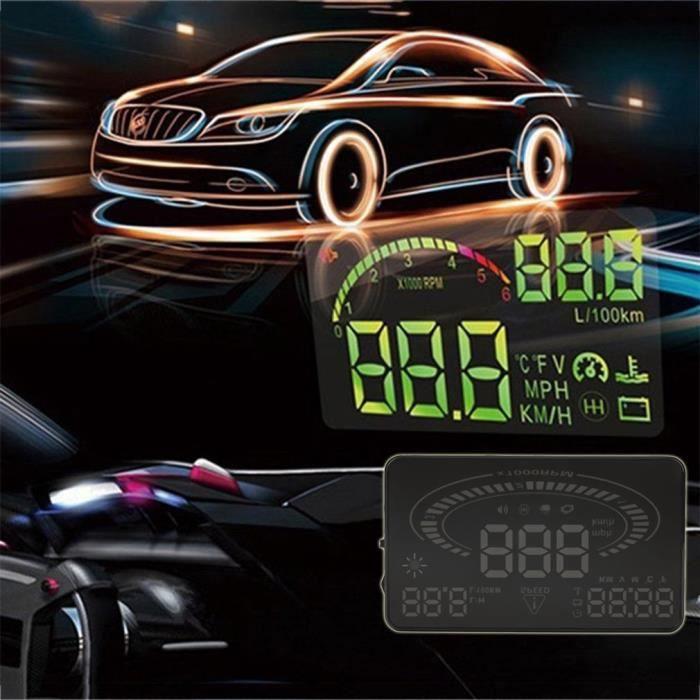 Compteur vitesse autonome GPS de vitesse avertissement