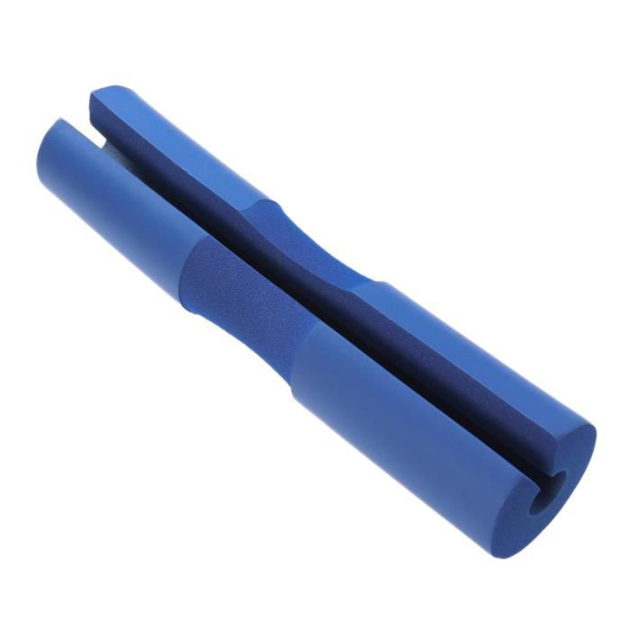 1 pc Barbell Squat Pad Cou & Épaule De Protection Éponge Barre Mousse pour Poids et (Bleu) BARRE - HALTERE - POIDS