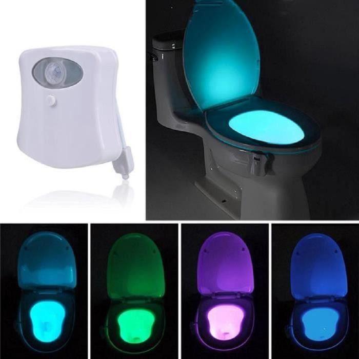 WC LED avec détecteur de mouvement