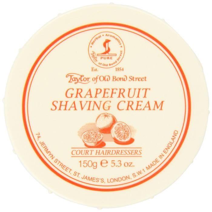 Taylor Of Old Bond Street Crème de Rasage Pamplemousse 150 g