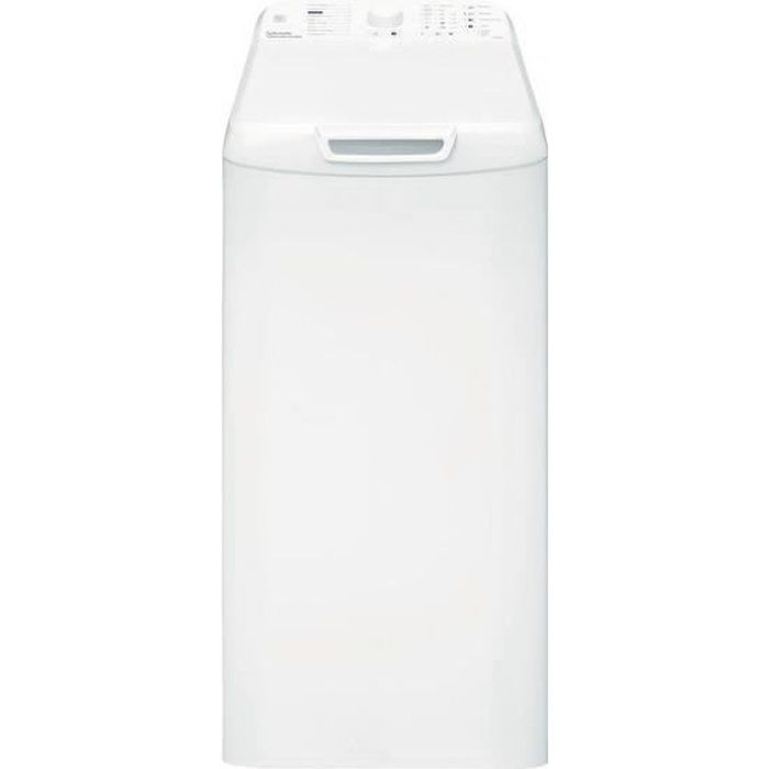 Vedette VLT1255W, Autonome, Charge supérieure, Blanc, boutons, Rotatif, Haut, LED