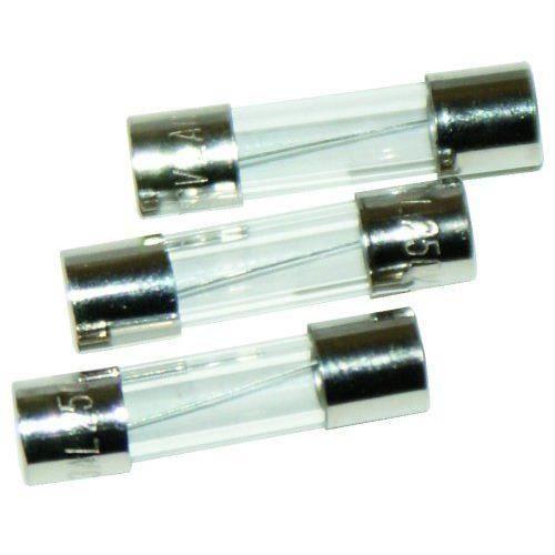 Voltman VOM511025 3 Fusibles verres 5 x 20 mm 1,6 A