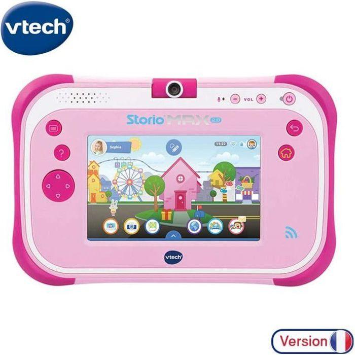 tablette tactile de 5 pouces pour Enfant de 3 ans à 11 ans rose