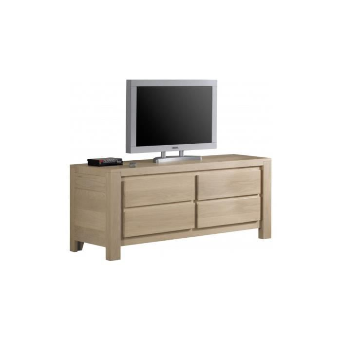 meuble tv ch ne gris 1 porte coulissante achat vente meuble tv meuble tv ch ne gris 1 port. Black Bedroom Furniture Sets. Home Design Ideas