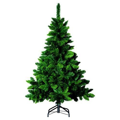 sapin de no l artificiel blooming h 150 cm vert achat vente sapin arbre de no l. Black Bedroom Furniture Sets. Home Design Ideas
