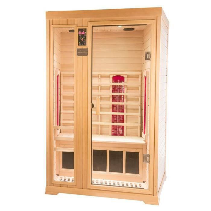 sauna infrarouge finnspa intenso ii h achat vente kit sauna sauna infrarouge finnspa cdiscount. Black Bedroom Furniture Sets. Home Design Ideas