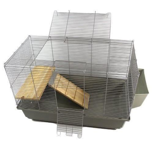 little friends cage pour rats et hamsters avec plateforme. Black Bedroom Furniture Sets. Home Design Ideas