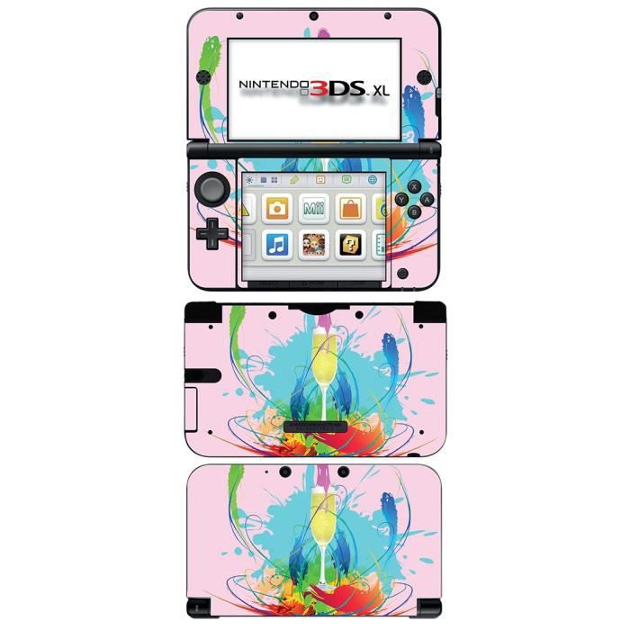 skin stickers pour nintendo 3ds xl sticker glamour girl. Black Bedroom Furniture Sets. Home Design Ideas