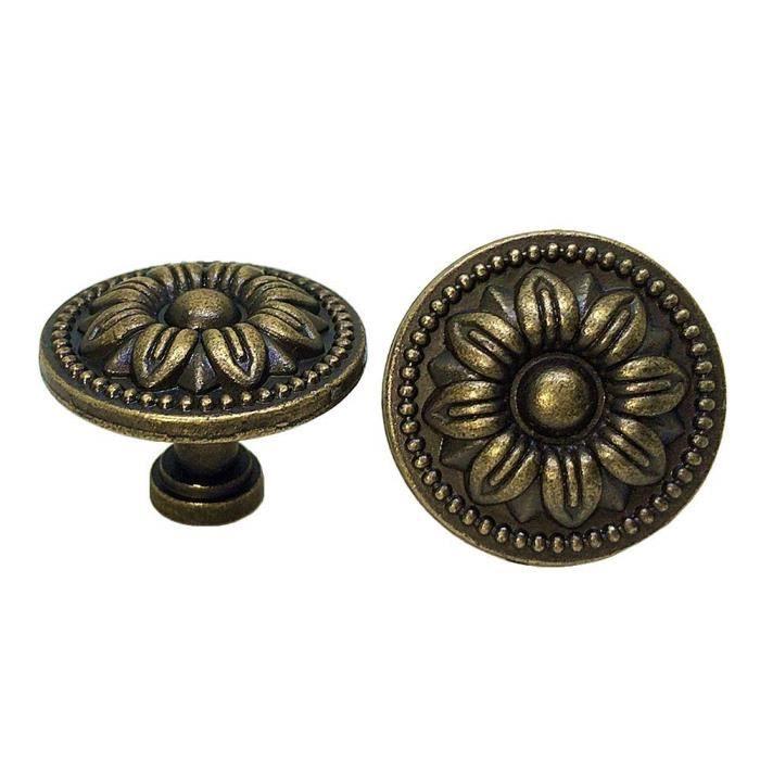 Nouvelle garde-robe Placard Porte Tiroir Bouton ovale-acier brossé