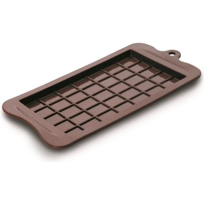 Moule tablette de chocolat 9 5 x 18 5 achat vente for 1 tablette de chocolat