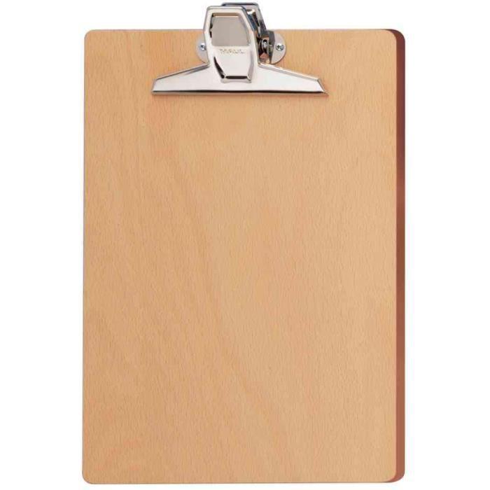 Clipboards Porte-documents en bois A4