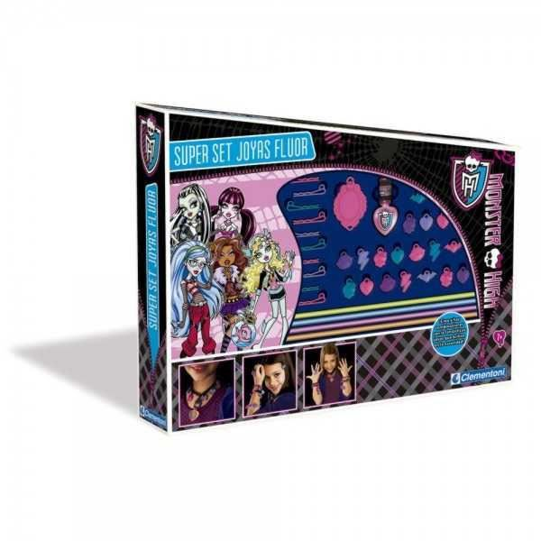 monster high jeu de fabrique de bijoux fluorescent achat. Black Bedroom Furniture Sets. Home Design Ideas