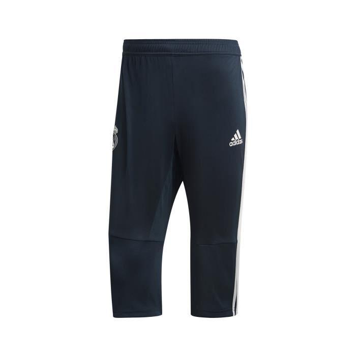 Pantalon 3 4 Entraînement Real Madrid adidas Noir
