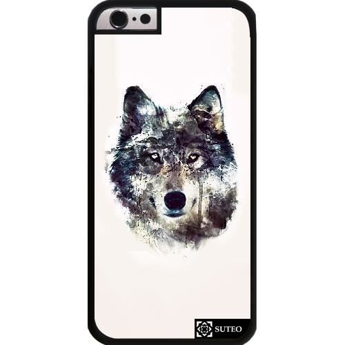coque iphone 6 plus loup