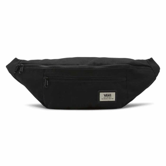 Vans WARD CROSS BODY PACK Sac banane sport, 46 cm, (Black)