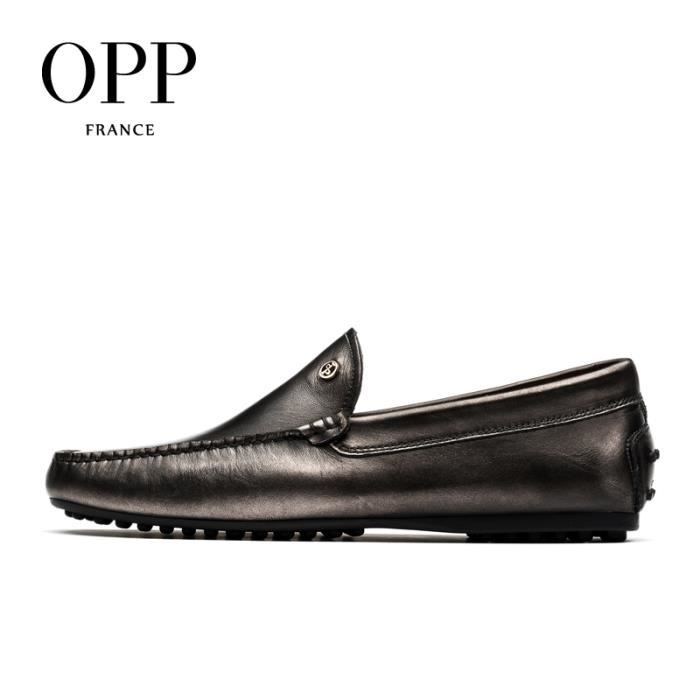 OPP Homme Mocassin Chaussures Business OD5208gris45 lkw8Z8i4Zt