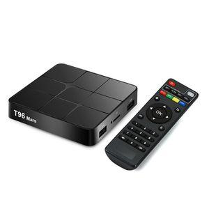 BOX MULTIMEDIA T96 Mars Smart Android 7.1.2 Boîtier TV Quad Core