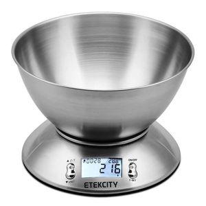 BALANCE ÉLECTRONIQUE Etekcity Balance de Cuisine Electronique 5 kg-1g e