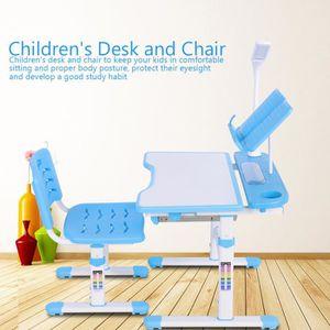 TABLE ET CHAISE Table et chaise pour enfant à hauteur réglable ave