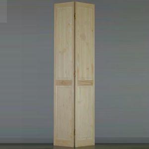 PORTE COULISSANTE Porte de placard pliante pleine pin H205xL61cm