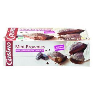COOKIES 8 Gâteaux brownies aux pépites de chocolat- 240 g