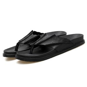 TONG Chaussures homme Sandalettes flip flop Reef Leathe