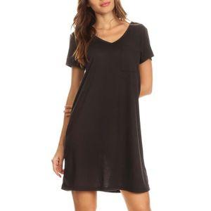 T-SHIRT Robe Tee-shirt à manches longues pour femmes avec