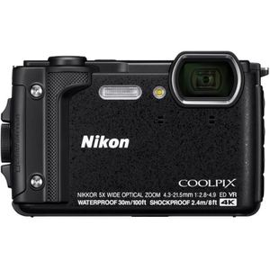APPAREIL PHOTO COMPACT NIKON COMPACT W300 NOIR