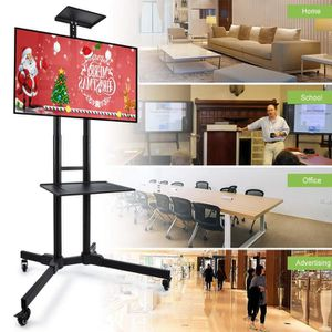 FIXATION - SUPPORT TV OOBEST® Support mural TV - Sur pied chariot réglab