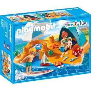 UNIVERS MINIATURE PLAYMOBIL 9425 - Family Fun - Famille de vacancier