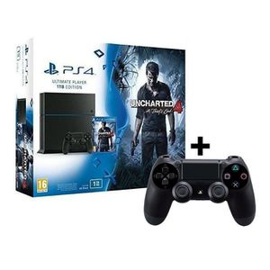 CONSOLE PS4 console Ps4 1to - Bundle Uncharted 4 + Extra Contr
