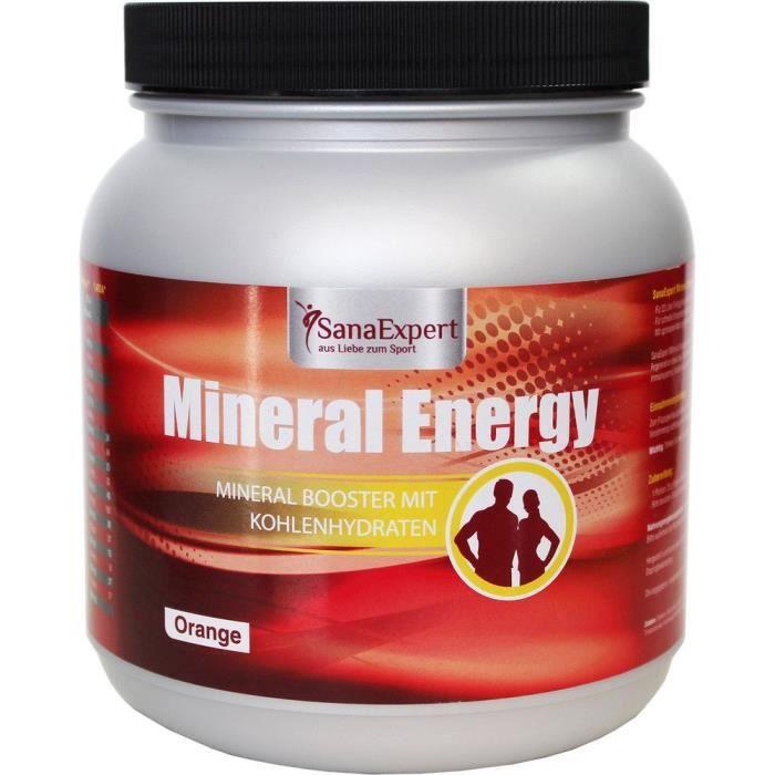 SanaExpert Mineral Energy, boisson isotonique, 1100 g: Hygiène et Soins du corps
