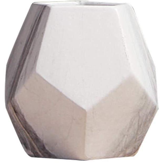 Vase à Fleurs en Céramique Vase Décoratif Marbre pour Intérieure Bureau Chambre Taille S[753]